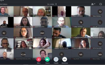 لقاء ائتلاف WINTEX بشكل افتراضي الاجتماع الثاني للمشروع