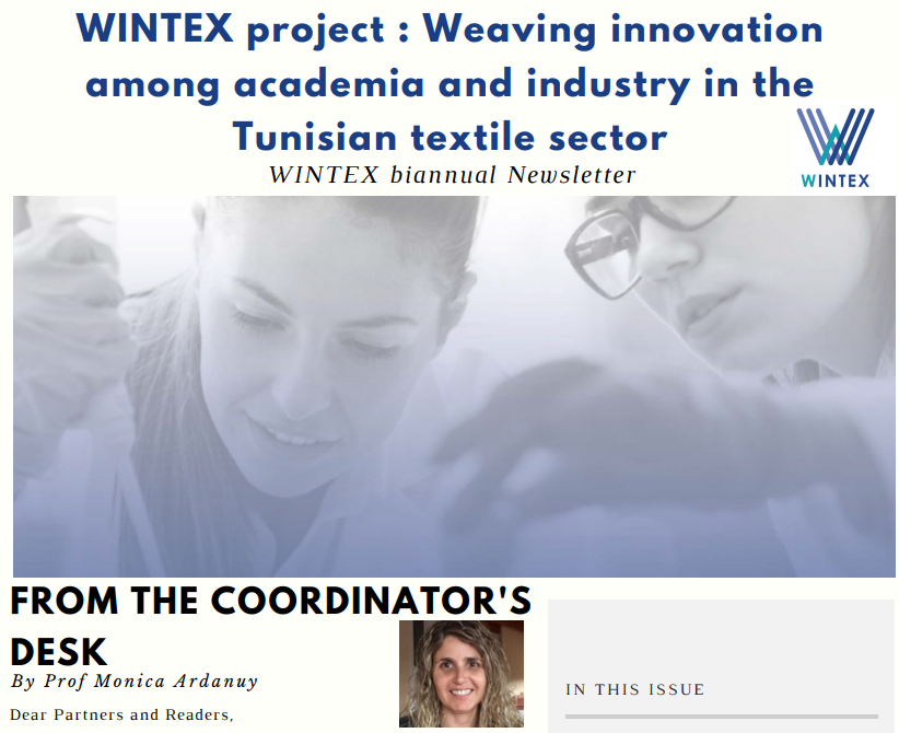 First WINTEX newsletter available!