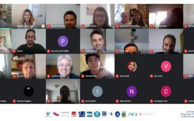 التقى شركاء WINTEX عبر الفيديو خلال الاجتماع الرابع للمشروع